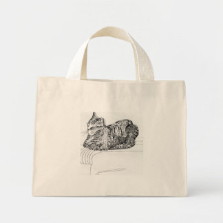 Thunder on a Chair Mini Tote Bag