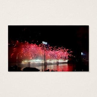 Thunder Over Louisville Fireworks Business Card