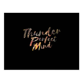 Thunder Perfect Mind Postcard