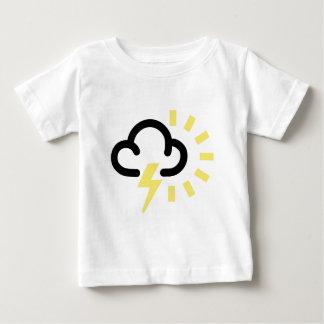 Thunder Storm: Retro weather forecast symbol T Shirt