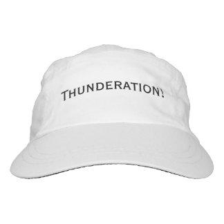 Thunderation! bold black text hat