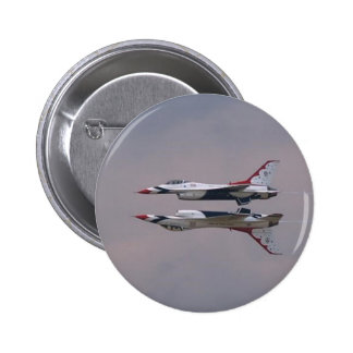 Thunderbird Mirror Fly By 2 Inch Round Button