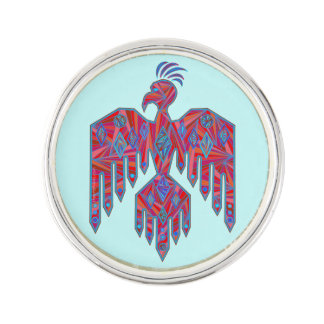 Thunderbird Southwest Art Native American Symbol Lapel Pin