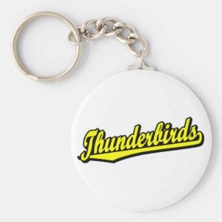 Thunderbirds in Yellow Keychain