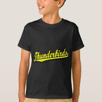 Thunderbirds in Yellow T-Shirt