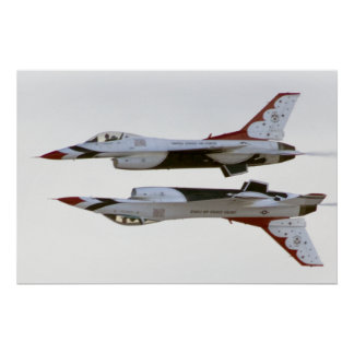 Thunderbirds Manoeuvre - Mirror Poster