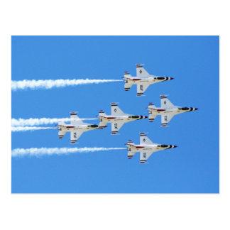 Thunderbirds ... postcard