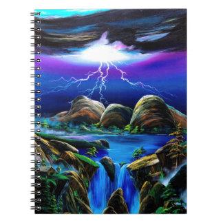 Thunderbolt of Mt. oruga Notebook