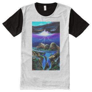 Thunderbolt of ururu All-Over-Print T-Shirt