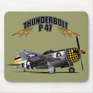 Thunderbolt P47 Mousepad