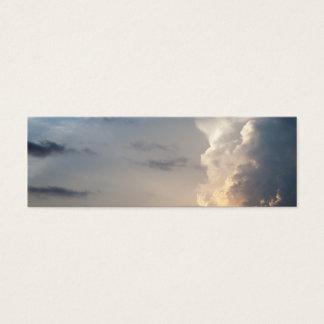 Thunderhead Cloud Heaven Sky Storm Clouds Mini Business Card