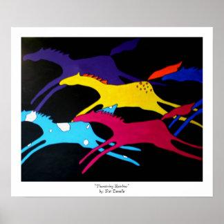 """Thundering Rainbow""  print"