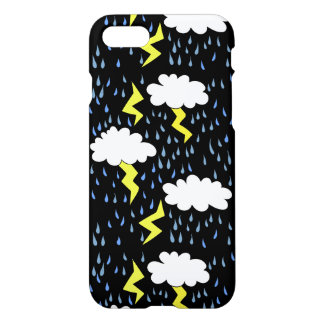 Thunderstorm Lightning strikes iPhone 7 Case