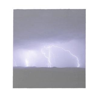 thunderstorm - notepad
