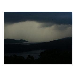 Thunderstorm over Quabbin Reservoir Postcard