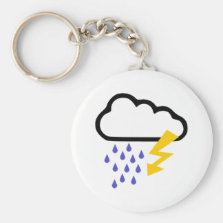 Thunderstorm - Weather Keychain