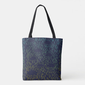 Thunderstorms Tote Bag