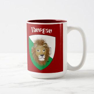 Thurgau Switzerland Suisse Svizzera Switzerland cu Two-Tone Coffee Mug