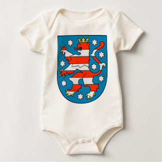 Thuringia coat of arms baby bodysuit