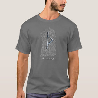 Thurisaz rune, Thor's symbol on east Rok runestone T-Shirt