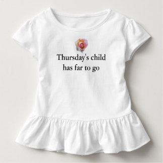 Thursdays Child Toddler T-shirt
