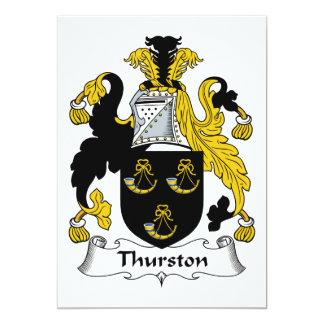 Thurston Family Crest Card