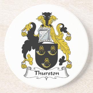 Thurston Family Crest Coaster