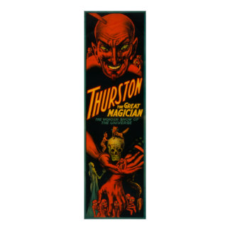 "Thurston ""Great Magician Show of the Universe"" Poster"