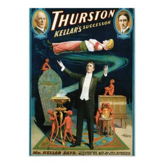 Thurston, Kellers Successor vintage Magician Card