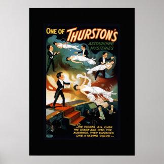 Thurston Magician Vintage Theatre Poster