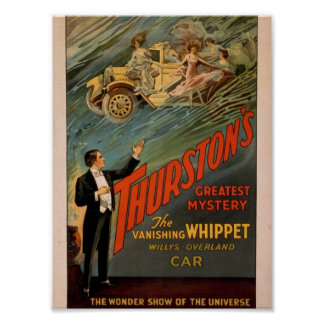 Thurston s The Wonder Show of Universe car Posters