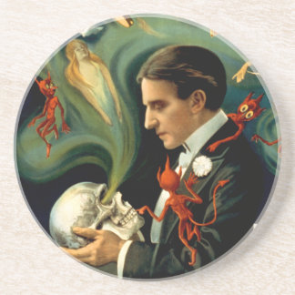 Thurston the Great Magician c. 1915 Coaster
