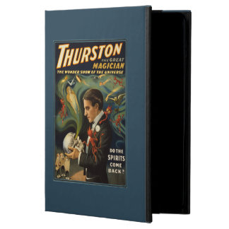 Thurston the Great Magician Holding Skull Magic iPad Air Case