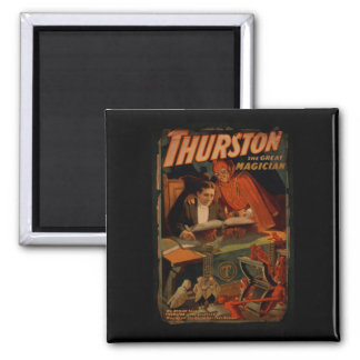 Thurston The Great Magician Vintage Magic Magnet