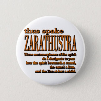 Thus Spake Zarathustra 2 Inch Round Button