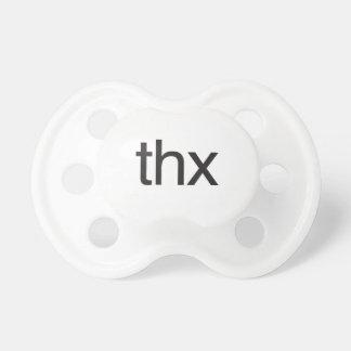 thx baby pacifiers