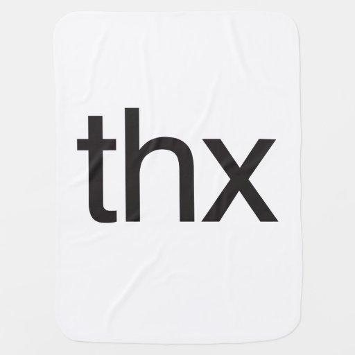 thx receiving blankets