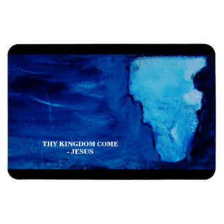 THY KINGDOM COME RECTANGULAR PHOTO MAGNET