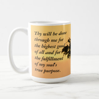 Thy will be done...Sunset Coffee Mug