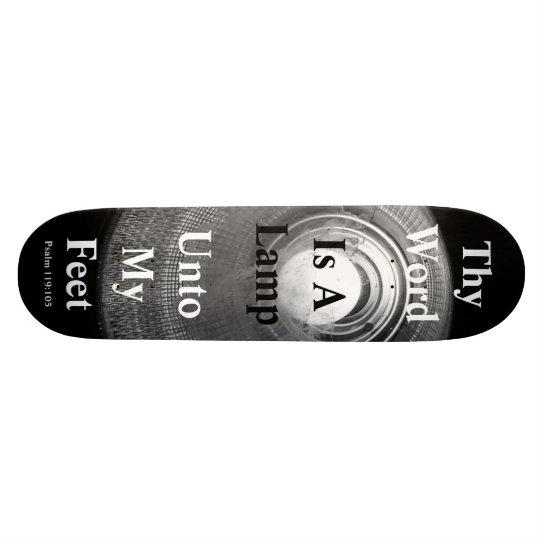 Thy Word Is A Lamp Unto My Feet Skate Board Decks