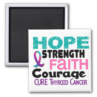 Thyroid Cancer HOPE 3 Magnet
