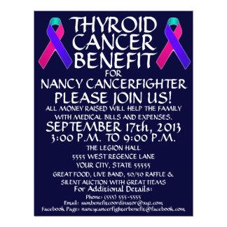 Thyroid Cancer Ribbon Benefit Flyer