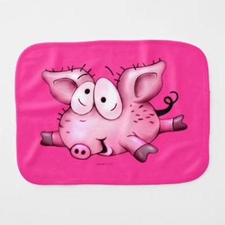 Ti-PIG CARTOON CUTE BURP CLOTH BABY