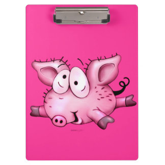 Ti-PIG CARTOON CUTE Clipboard