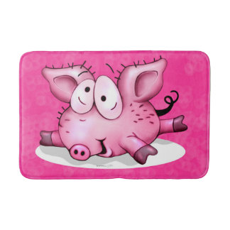 Ti-PIG CARTOON Medium Bath Mat