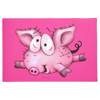 "Ti-Pig CUTE CARTOON DOOR MAT 24"" x 36"" Door Mat"