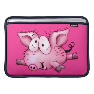 Ti-PIG CUTE CARTOON Macbook Air 11 ONZ H MacBook Sleeve