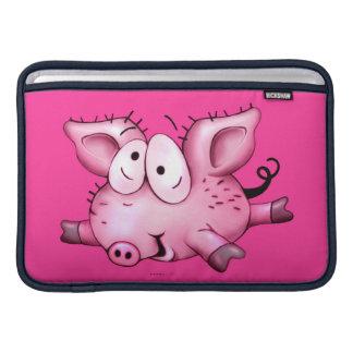 Ti-PIG CUTE CARTOON Macbook Air 11 ONZ H Sleeves For MacBook Air