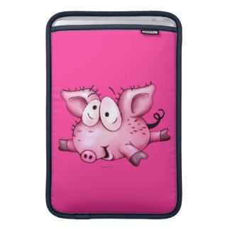 Ti-PIG CUTE CARTOON Macbook Air 11 ONZ MacBook Sleeves