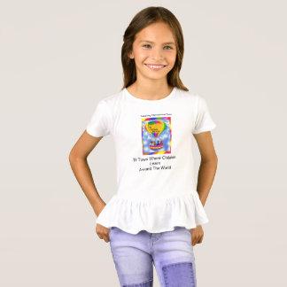 TI TOWN BEARS GIRLS T-SHIRT WHITE